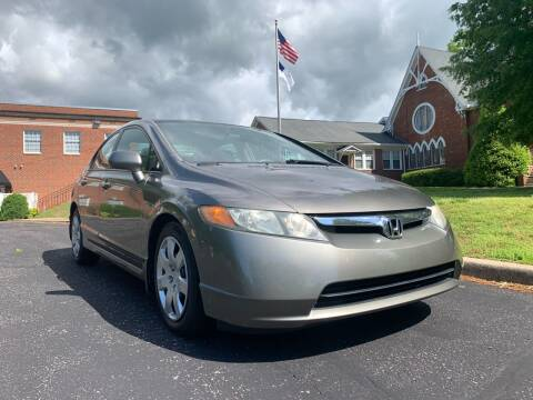 2006 Honda Civic for sale at Automax of Eden in Eden NC