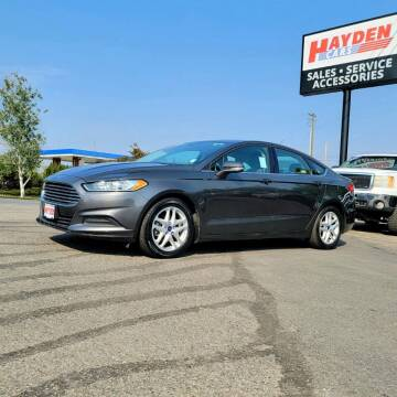 2016 Ford Fusion for sale at Hayden Cars in Coeur D Alene ID