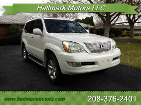 2008 Lexus GX 470 for sale at HALLMARK MOTORS LLC in Boise ID