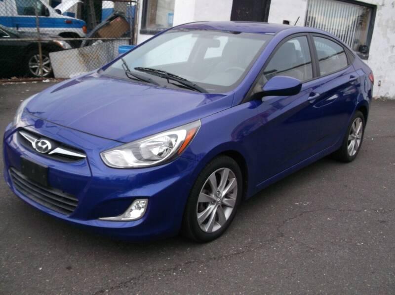2012 Hyundai Accent for sale at Topchev Auto Sales in Elizabeth NJ