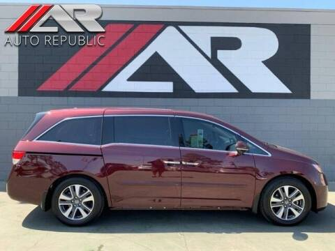 2015 Honda Odyssey for sale at Auto Republic Fullerton in Fullerton CA