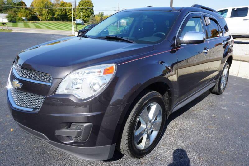 2015 Chevrolet Equinox for sale at MyEzAutoBroker.com in Mount Vernon OH