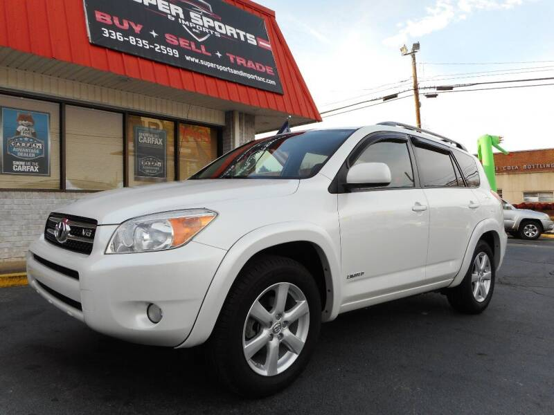 2007 Toyota RAV4 for sale at Super Sports & Imports in Jonesville NC
