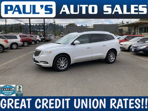 2016 Buick Enclave for sale at Paul's Auto Sales in Eugene OR