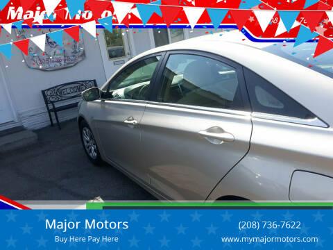 2011 Hyundai Sonata for sale at Major Motors in Twin Falls ID