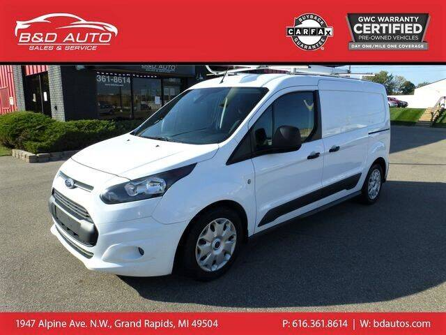 2015 Ford Transit Connect Cargo for sale at B&D Auto Sales Inc in Grand Rapids MI