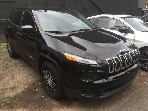 2017 Jeep Cherokee for sale at MELILLO MOTORS INC in North Haven CT