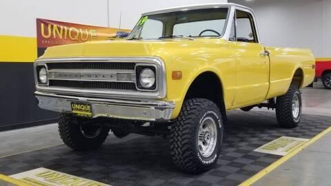 1969 Chevrolet C/K 10 Series for sale at UNIQUE SPECIALTY & CLASSICS in Mankato MN