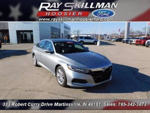 2020 Honda Accord for sale at Ray Skillman Hoosier Ford in Martinsville IN