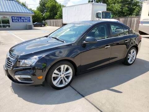 2016 Chevrolet Cruze Limited for sale at Kell Auto Sales, Inc - Grace Street in Wichita Falls TX