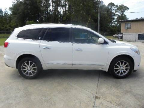 2013 Buick Enclave for sale at VANN'S AUTO MART in Jesup GA