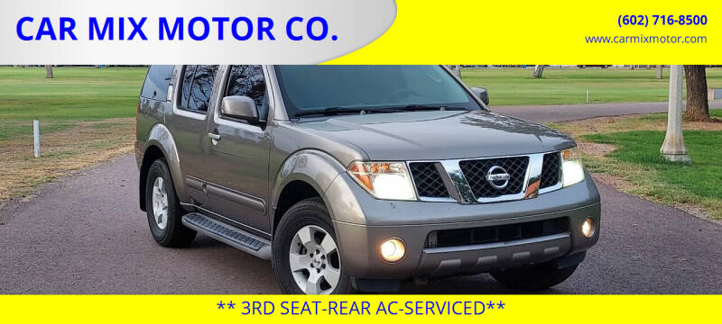 2006 Nissan Pathfinder for sale at CAR MIX MOTOR CO. in Phoenix AZ