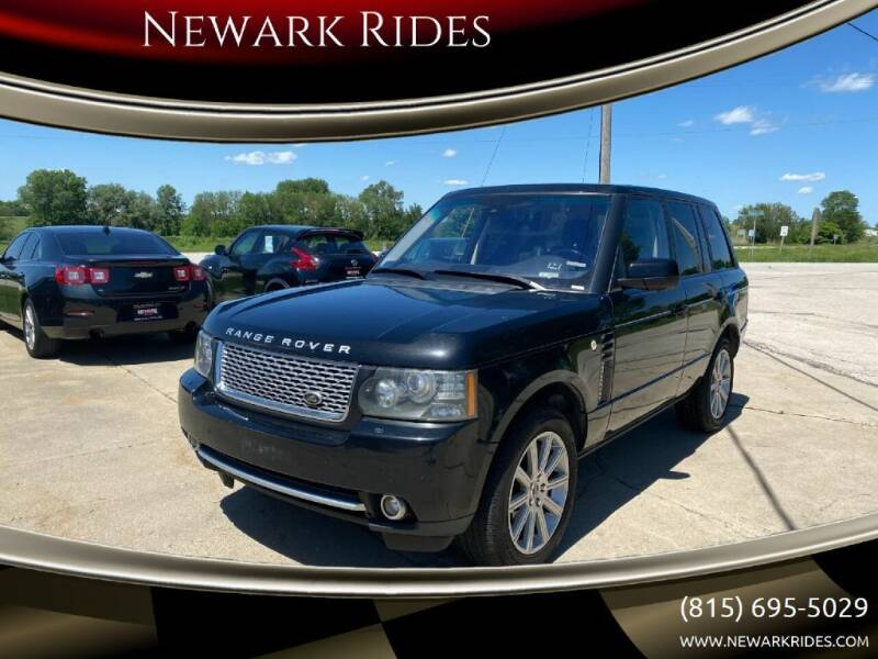 2012 Land Rover Range Rover for sale at Newark Rides in Newark IL