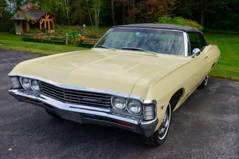 1967 Chevrolet Impala for sale at Essex Motorsport, LLC in Essex Junction VT
