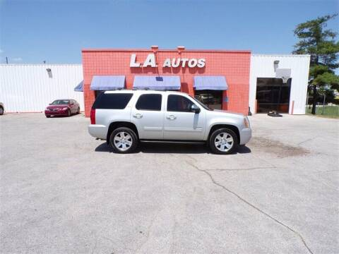 2010 GMC Yukon for sale at L A AUTOS in Omaha NE