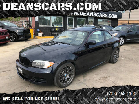 2013 BMW 1 Series for sale at DEANSCARS.COM in Bridgeview IL