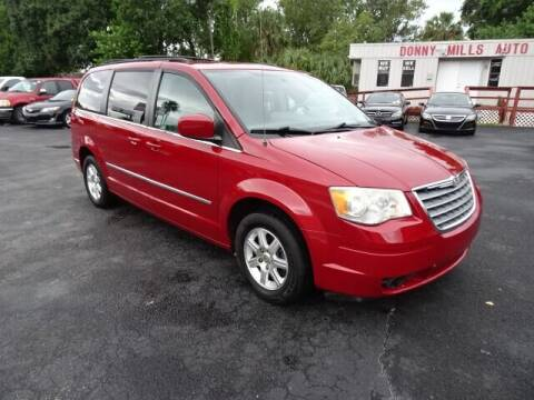 2010 Chrysler Town and Country for sale at DONNY MILLS AUTO SALES in Largo FL