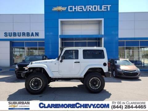 2013 Jeep Wrangler for sale at Suburban Chevrolet in Claremore OK