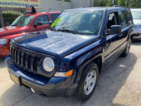 2012 Jeep Patriot for sale at 5 Stars Auto Service and Sales in Chicago IL