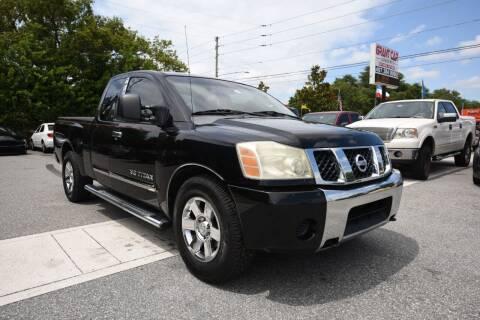 2007 Nissan Titan for sale at Grant Car Concepts in Orlando FL
