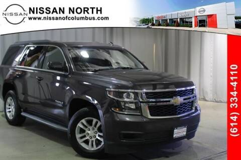 2015 Chevrolet Tahoe for sale at Auto Center of Columbus in Columbus OH