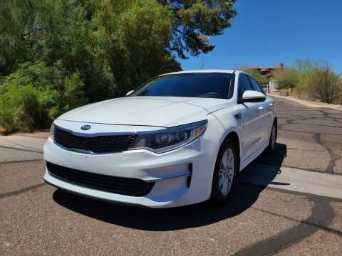 2016 Kia Optima for sale at BUY RIGHT AUTO SALES in Phoenix AZ