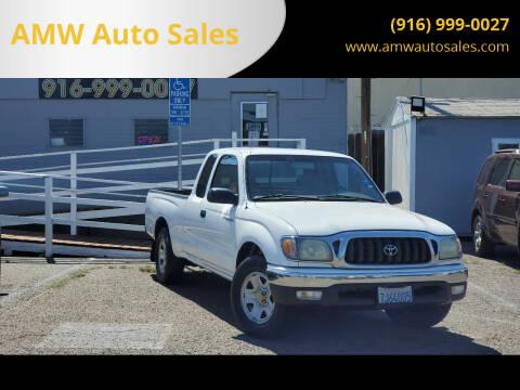 2003 Toyota Tacoma for sale at AMW Auto Sales in Sacramento CA