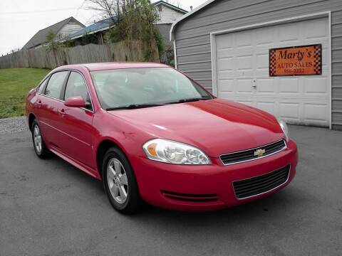 2009 Chevrolet Impala for sale at Marty's Auto Sales in Lenoir City TN