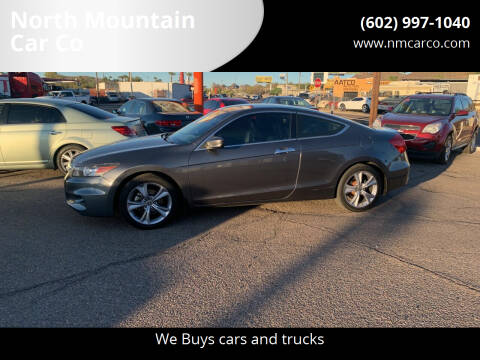 2012 Honda Accord for sale at North Mountain Car Co in Phoenix AZ