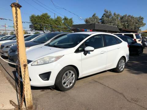 2012 Ford Fiesta for sale at Valley Auto Center in Phoenix AZ