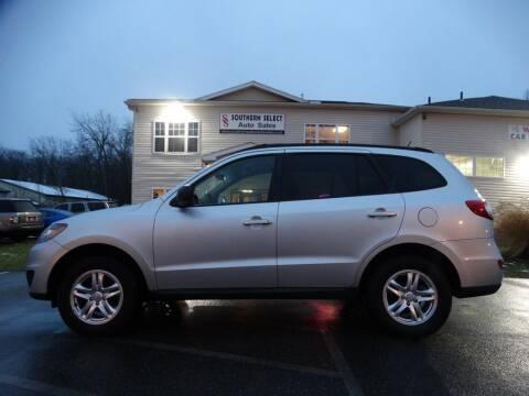 2012 Hyundai Santa Fe for sale at SOUTHERN SELECT AUTO SALES in Medina OH