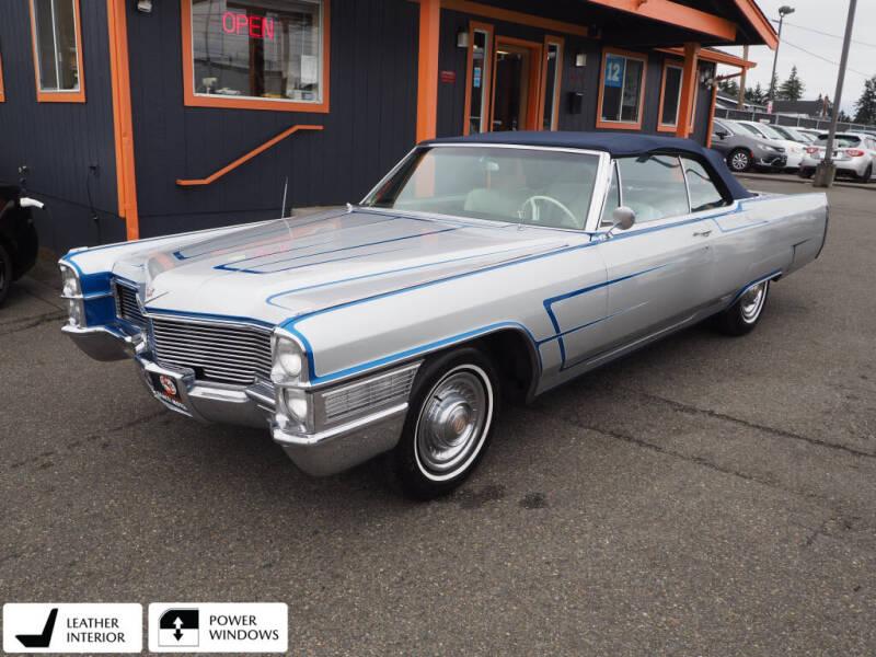 1965 Cadillac DeVille for sale at Sabeti Motors in Tacoma WA