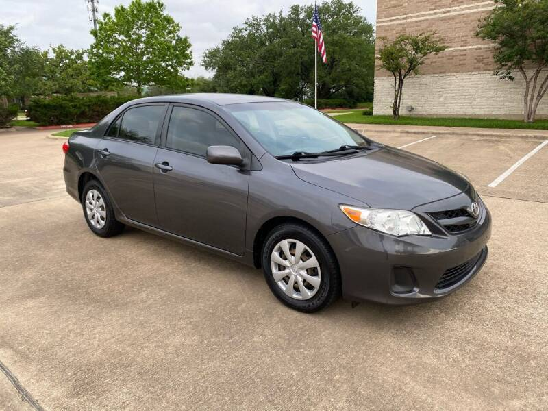 2011 Toyota Corolla for sale at Pitt Stop Detail & Auto Sales in College Station TX
