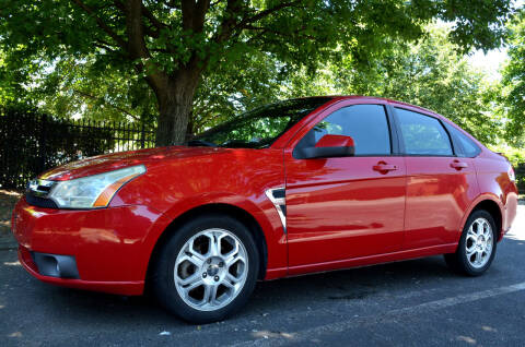 2008 Ford Focus for sale at Wheel Deal Auto Sales LLC in Norfolk VA
