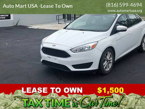 2016 Ford Focus for sale at Auto Mart USA -Lease To Own in Kansas City MO