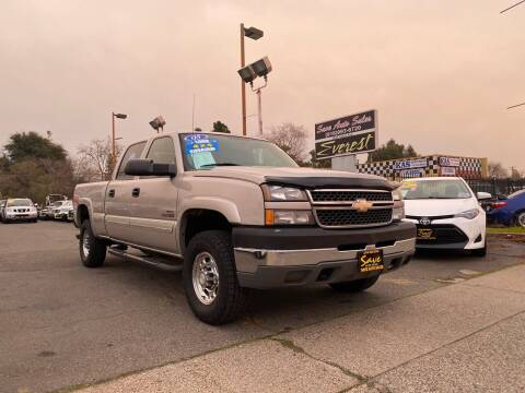 2005 Chevrolet Silverado 2500HD for sale at Save Auto Sales in Sacramento CA