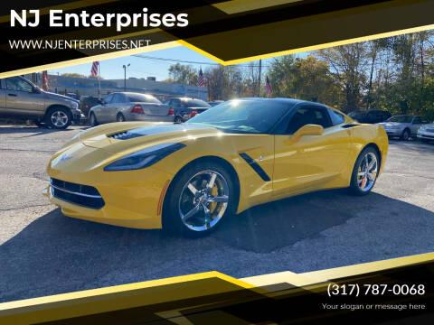 2014 Chevrolet Corvette for sale at NJ Enterprises in Indianapolis IN