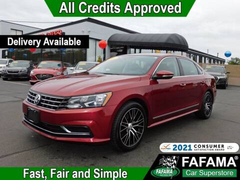 2016 Volkswagen Passat for sale at FAFAMA AUTO SALES Inc in Milford MA