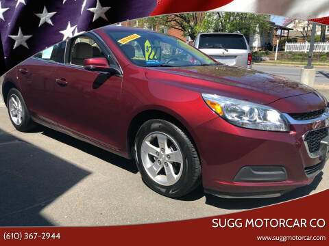 2015 Chevrolet Malibu for sale at Sugg Motorcar Co in Boyertown PA