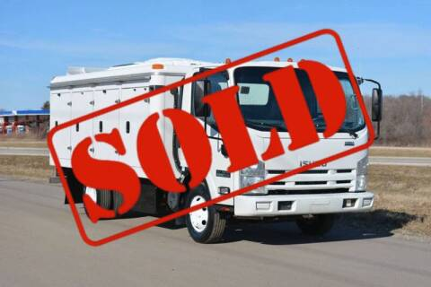 2013 Isuzu NPR for sale at Signature Truck Center - Service-Utility Truck in Crystal Lake IL