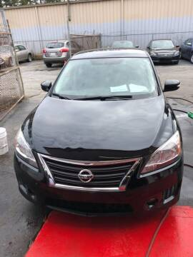 2015 Nissan Sentra for sale at LAKE CITY AUTO SALES in Forest Park GA