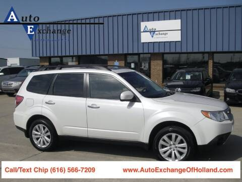 2011 Subaru Forester for sale at Auto Exchange Of Holland in Holland MI
