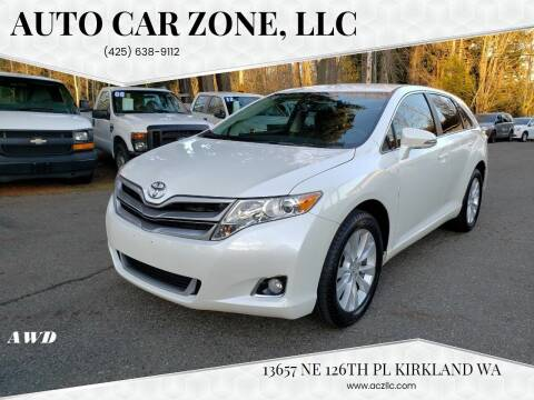 2014 Toyota Venza for sale at Auto Car Zone, LLC in Kirkland WA