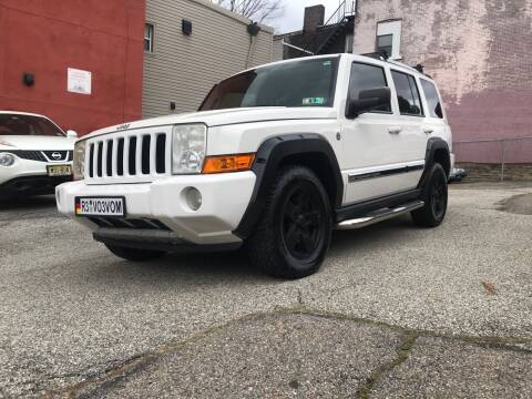 2008 Jeep Commander for sale at MG Auto Sales in Pittsburgh PA