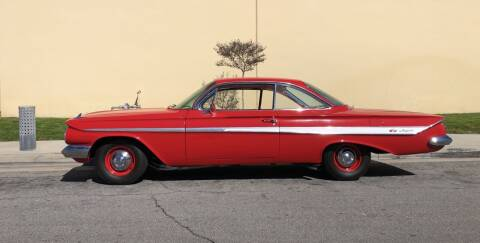 1961 Chevrolet Impala for sale at HIGH-LINE MOTOR SPORTS in Brea CA