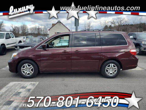 2007 Honda Odyssey for sale at FUELIN FINE AUTO SALES INC in Saylorsburg PA
