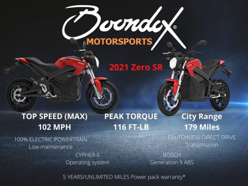2021 Zero SR ZF14.4 for sale at Boondox Motorsports in Caledonia MI