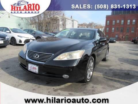 2008 Lexus ES 350 for sale at Hilario's Auto Sales in Worcester MA