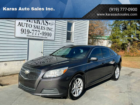2013 Chevrolet Malibu for sale at Karas Auto Sales Inc. in Sanford NC