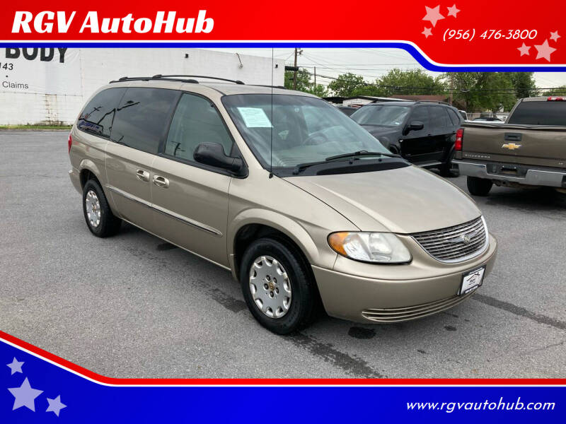 2002 Chrysler Town and Country for sale at RGV AutoHub in Harlingen TX